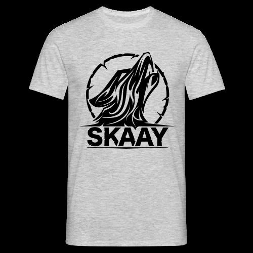 ♂ Hoodie (1. Skaay Logo Schwarz) - Männer T-Shirt