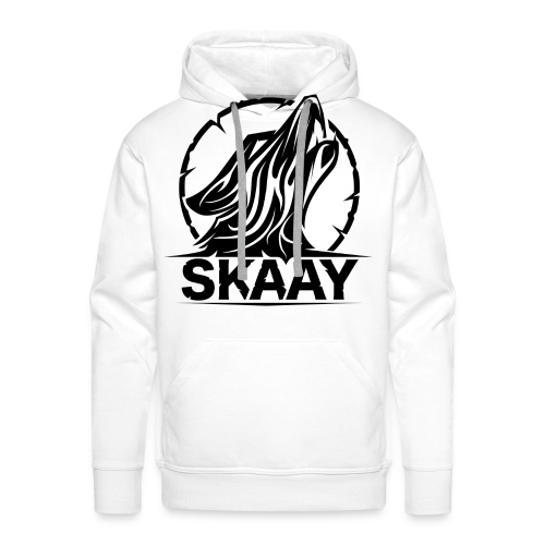 ♂ T-Shirt (1. Skaay Logo Schwarz) - Männer Premium Hoodie