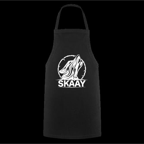 ♂ T-Shirt (1. Skaay Logo Weiß) - Kochschürze
