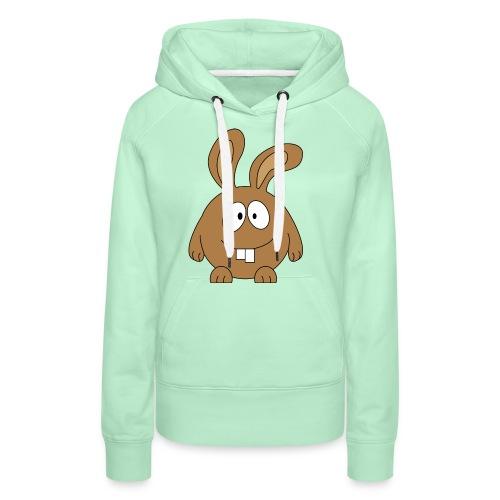 pummeliger Hase - Frauen Premium Hoodie