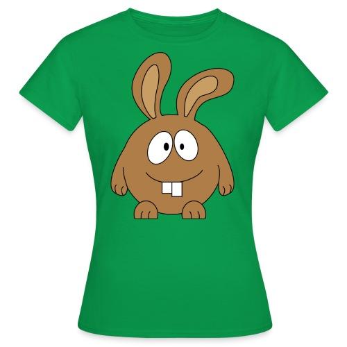 pummeliger Hase - Frauen T-Shirt