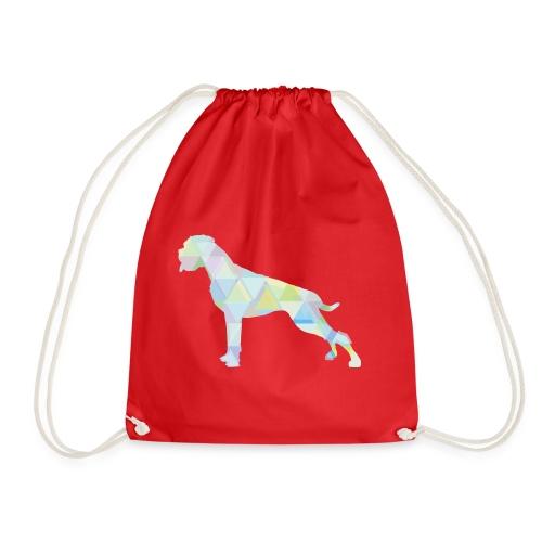 Die bunten Boxerhunde - Turnbeutel