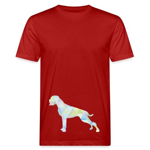Die bunten Boxerhunde - Männer Bio-T-Shirt