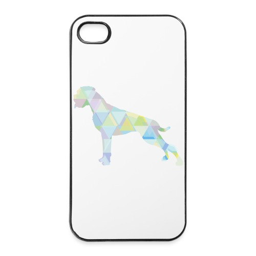 Die bunten Boxerhunde - iPhone 4/4s Hard Case