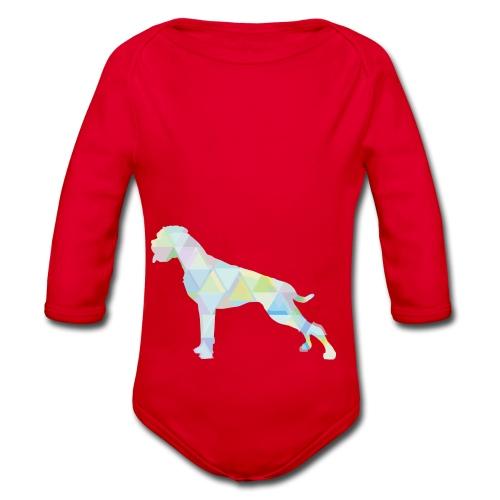Die bunten Boxerhunde - Baby Bio-Langarm-Body