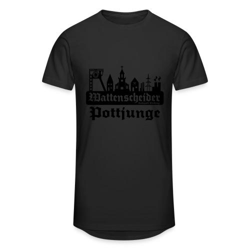 Wattenscheider Pottjunge mit Skyline - Pullover - Männer Urban Longshirt