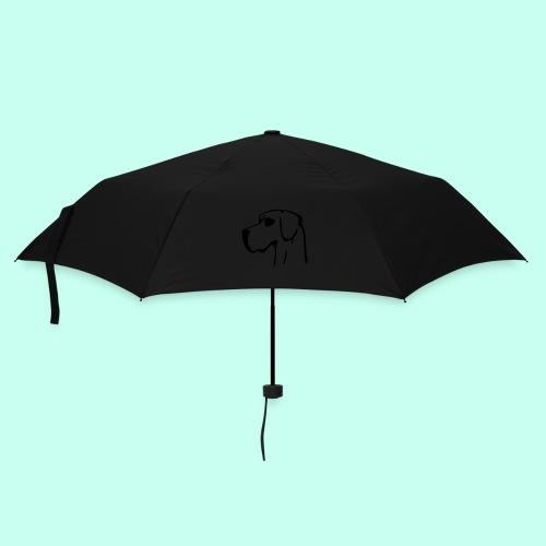 Regenschirm (klein) - leckerlibeutel,hundeschultasche,goodiesbeutel,Umhängetasche,Gürteltasche,Great Dane,Doggen,Dogge,Alano