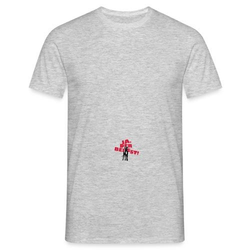 Doggenflasche - Männer T-Shirt