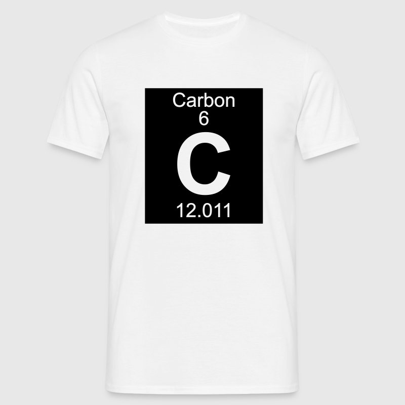 Carbon (C) (element 6) - Men's T-Shirt