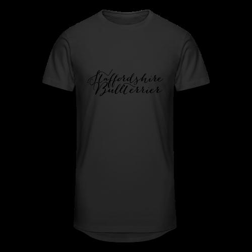 Staffordshire Bullterrier Kapuzen Sweater - Männer Urban Longshirt