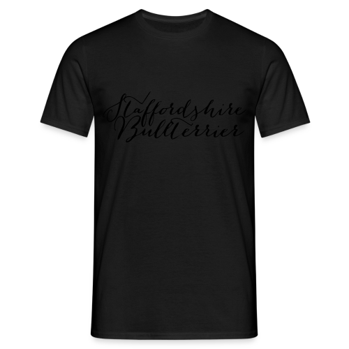 Staffordshire Bullterrier Kapuzen Sweater - Männer T-Shirt