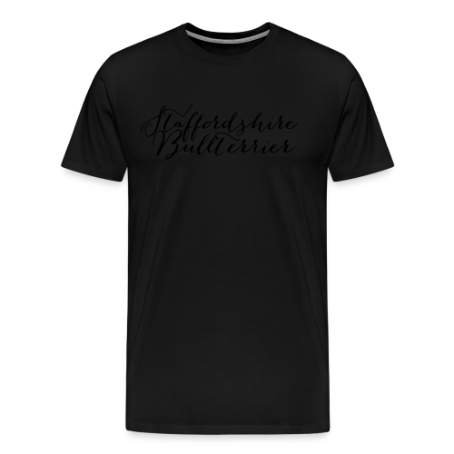 Staffordshire Bullterrier Kapuzen Sweater - Männer Premium T-Shirt
