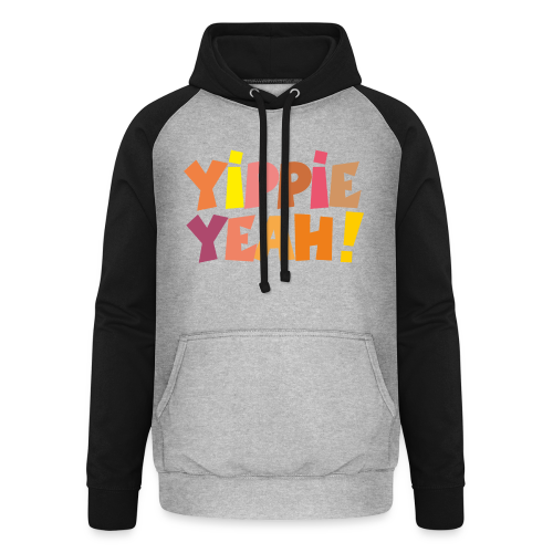 Yippie Yeah Colours Baby Body (Grün) - Unisex Baseball Hoodie