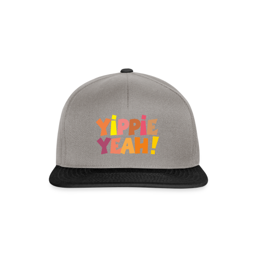 Yippie Yeah Colours Baby Body (Grün) - Snapback Cap