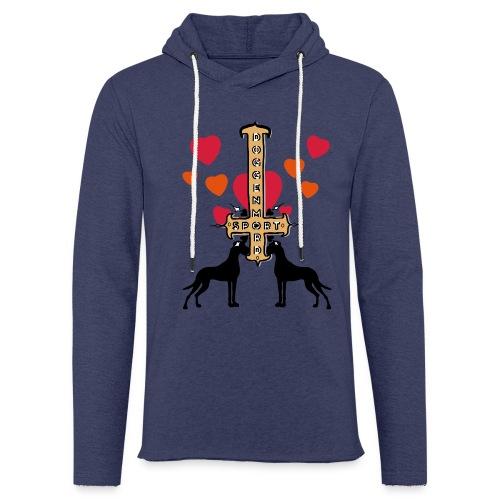 Doggensport - Leichtes Kapuzensweatshirt Unisex