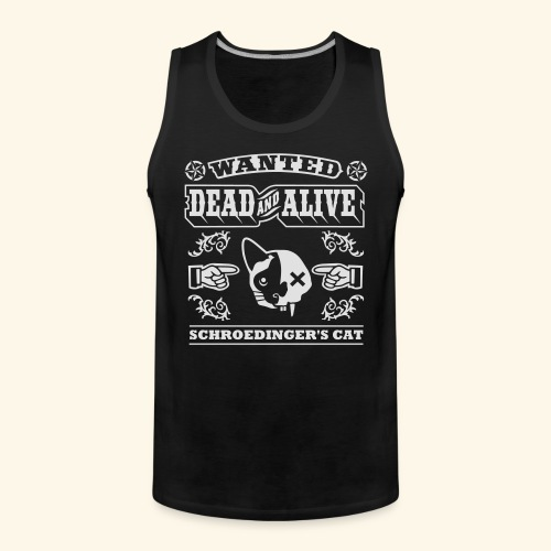 Schroedinger's Cat, Biggie - Männer Premium Tank Top