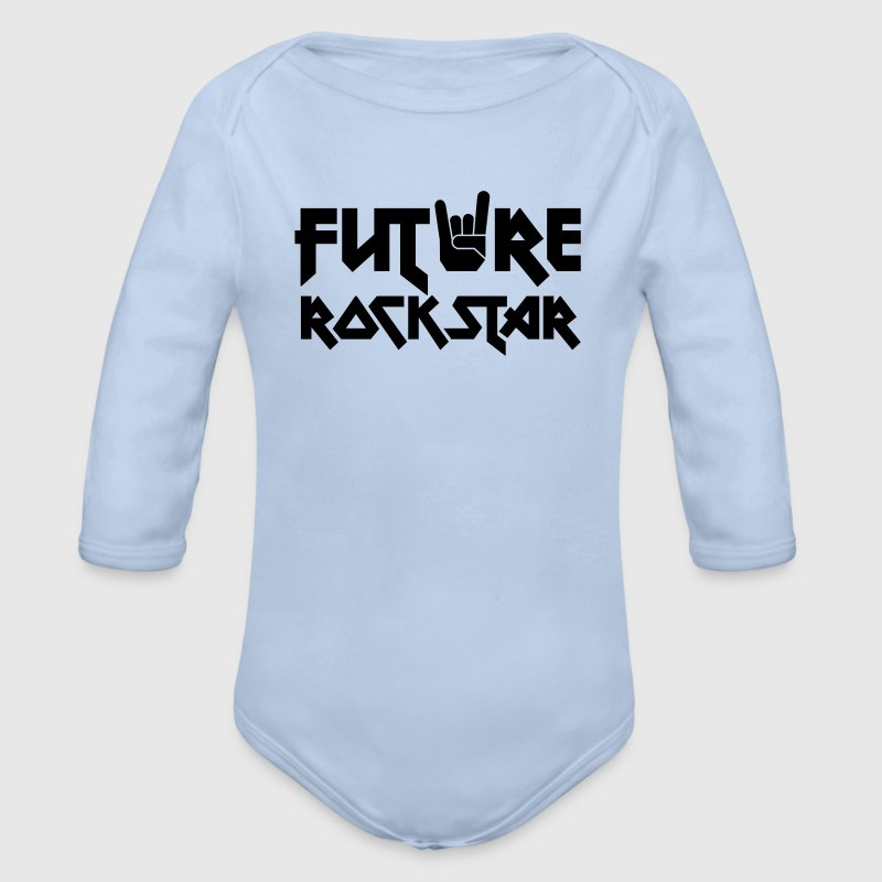 future rock star Pullover & Hoodies - Baby Bio-Langarm-Body