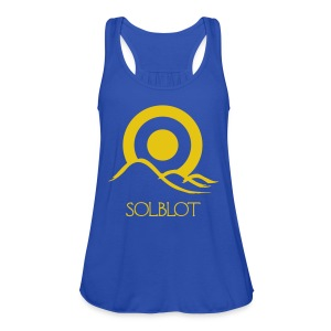 Sunrise Royal T-shirt (M) - Women's Tank Top by Bella
