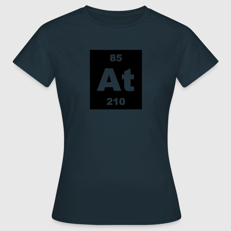 Astatine (At) (element 85) - Women's T-Shirt