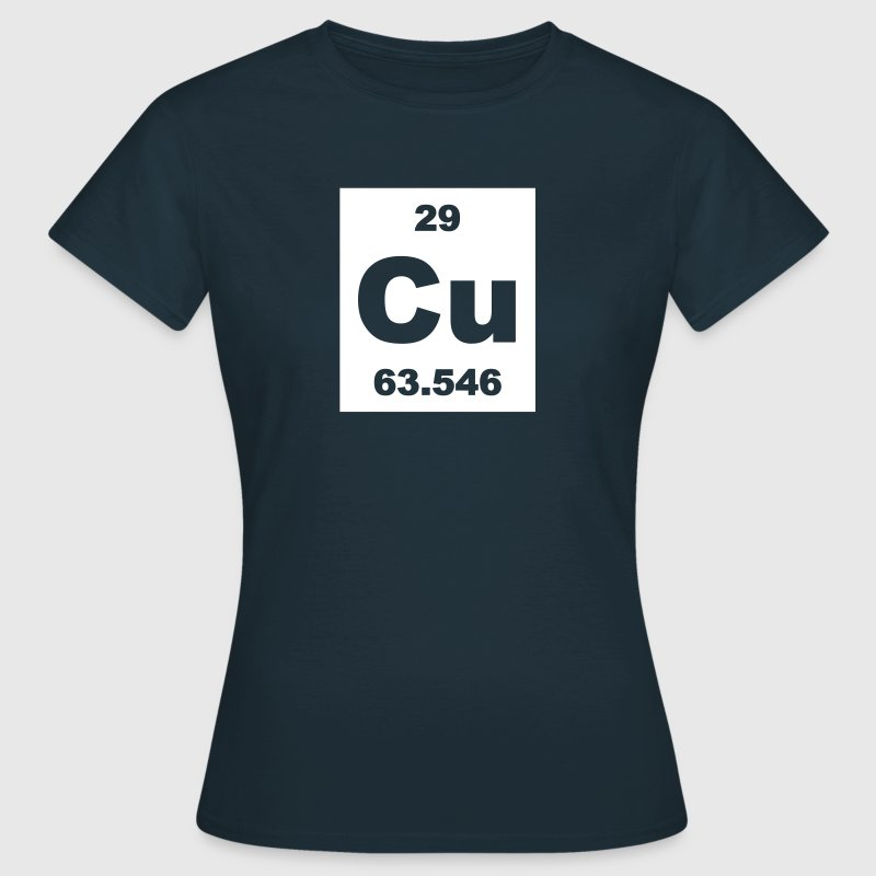 Copper (Cu) (element 29) - Women's T-Shirt