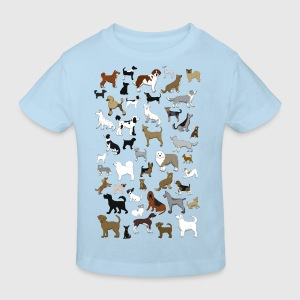 Viele Hunde Pullover & Hoodies - Kinder Bio-T-Shirt