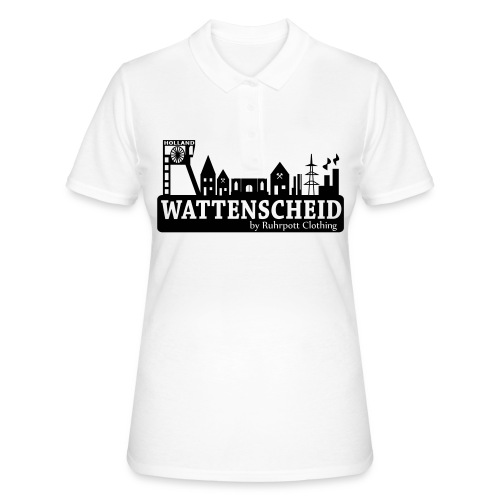 Skyline Wattenscheid 2013 - Frauen Pullover by Ruhrpott Clothing - Frauen Polo Shirt