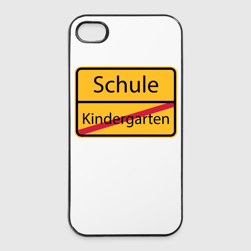 Schule Kindergarten Schulkind Vorschule 3c Handy & Tablet Hüllen - iPhone 4/4s Hard Case