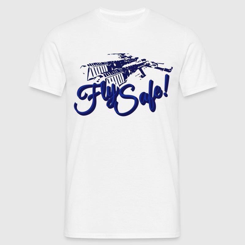 Fly Safe - Rifter - EVE T-Shirts - Männer T-Shirt