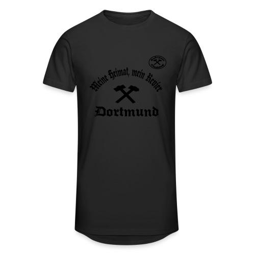 Dortmund - Meine Heimat, Mein Revier - T-Shirt - Männer Urban Longshirt