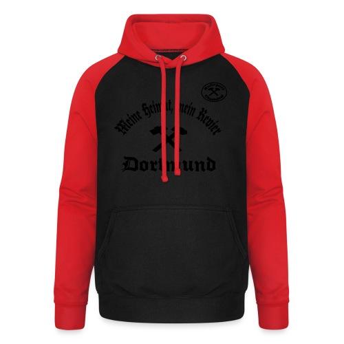 Dortmund - Meine Heimat, Mein Revier - T-Shirt - Unisex Baseball Hoodie