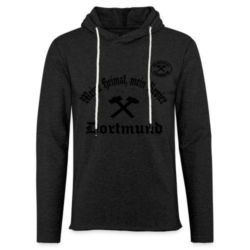 Dortmund - Meine Heimat, Mein Revier - T-Shirt - Leichtes Kapuzensweatshirt Unisex
