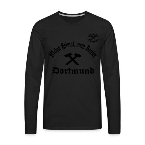 Dortmund - Meine Heimat, Mein Revier - T-Shirt - Männer Premium Langarmshirt