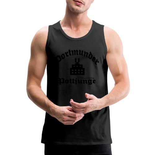 Dortmunder - Pottjunge - Dortmunder U - T-Shirt - Männer Premium Tank Top