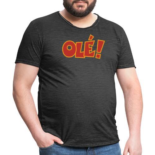 Olé! T-Shirt (Schwarz/Damen) Colors - Männer Vintage T-Shirt