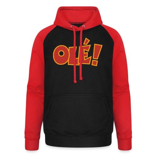 Olé! T-Shirt (Schwarz/Damen) Colors - Unisex Baseball Hoodie