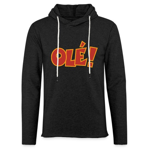 Olé! T-Shirt (Schwarz/Damen) Colors - Leichtes Kapuzensweatshirt Unisex