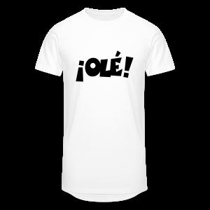 ¡Olé! T-Shirt (Weiß/Damen) - Männer Urban Longshirt