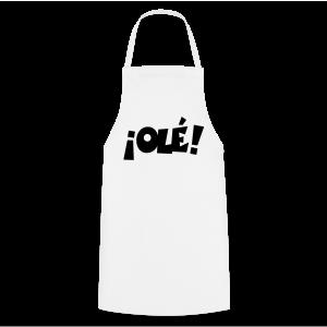 ¡Olé! T-Shirt (Weiß/Damen) - Kochschürze