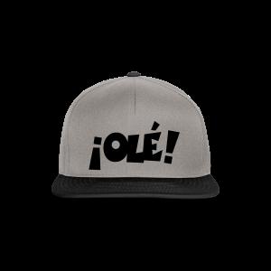 ¡Olé! T-Shirt (Weiß/Damen) - Snapback Cap
