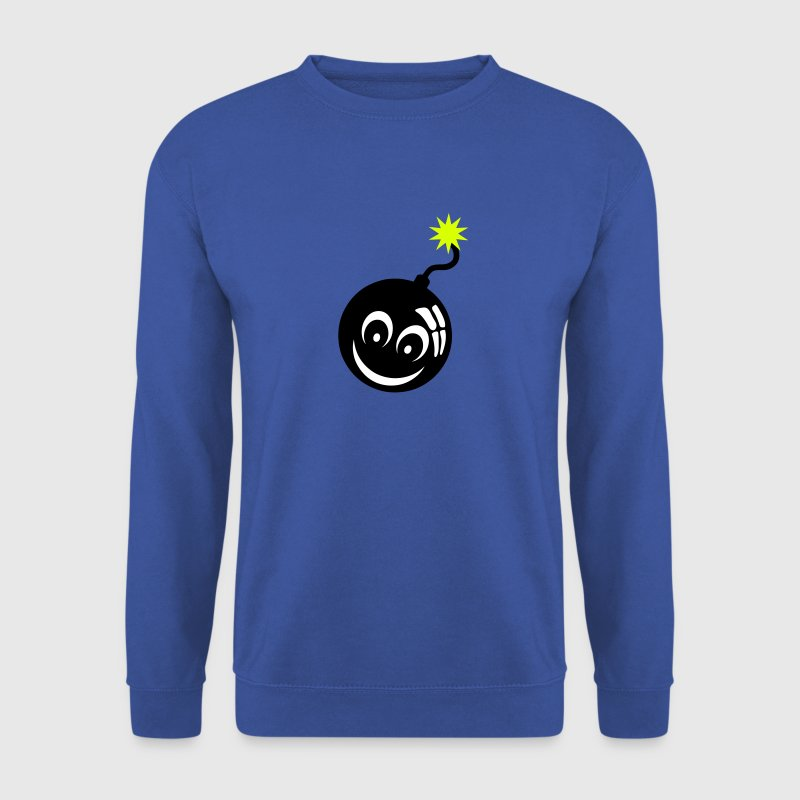 bombe smiley meche bomb 907 Sweat-shirts - Sweat-shirt Homme