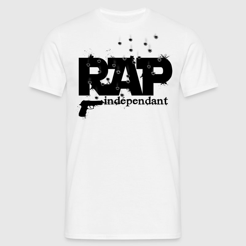 tshirt homme rap independant - T-shirt Homme
