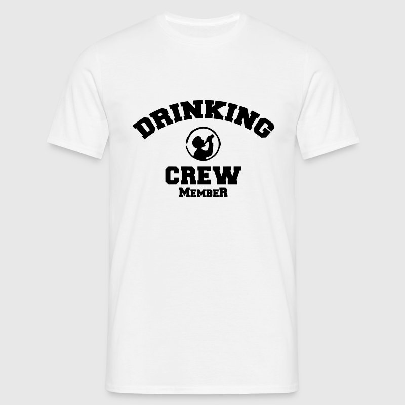 drinking crew T-Shirts - Men's T-Shirt