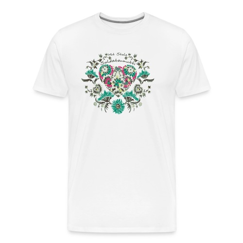 Mit Stolz Soldatenmutti Bioshirt - Männer Premium T-Shirt