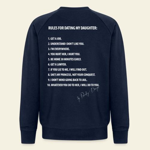 Dating my daughter! - Økologisk Stanley & Stella sweatshirt til herrer
