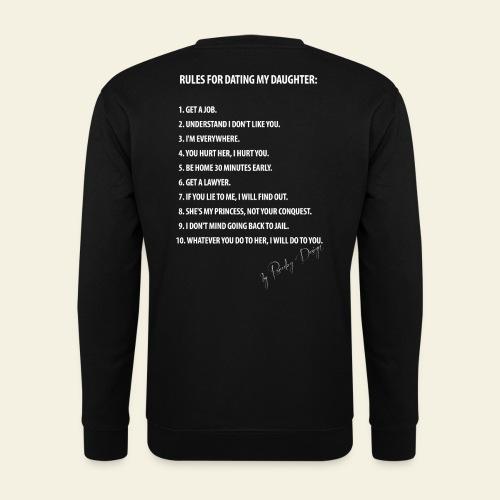Dating my daughter! - Herre sweater
