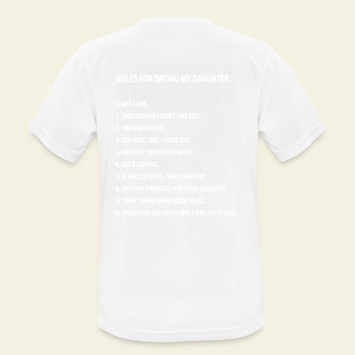Dating my daughter! - Herre T-shirt svedtransporterende