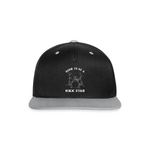 Born To Be ... Drums Body 1 - Kontrast Snapback Cap