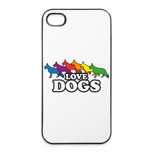 Love Dogs - iPhone 4/4s Hard Case