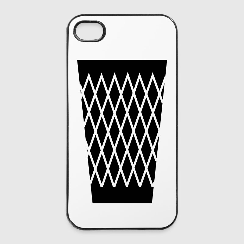 GERIPPTES iPhone Hard Case für iPhone 4 - iPhone 4/4s Hard Case