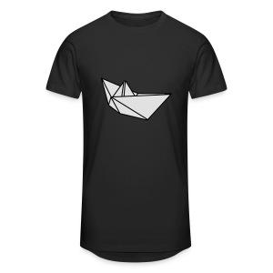 Origami Papierflieger Taschen & Rucksäcke - Männer Urban Longshirt